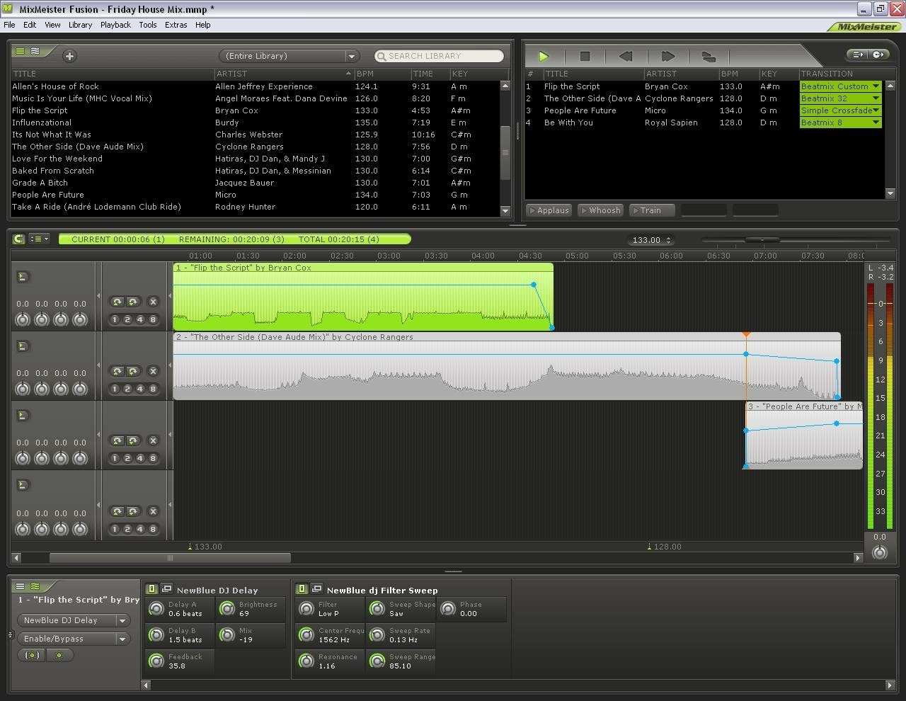Mixmeister screenshot 0