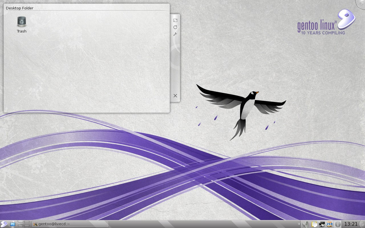 Gentoo screenshot 1