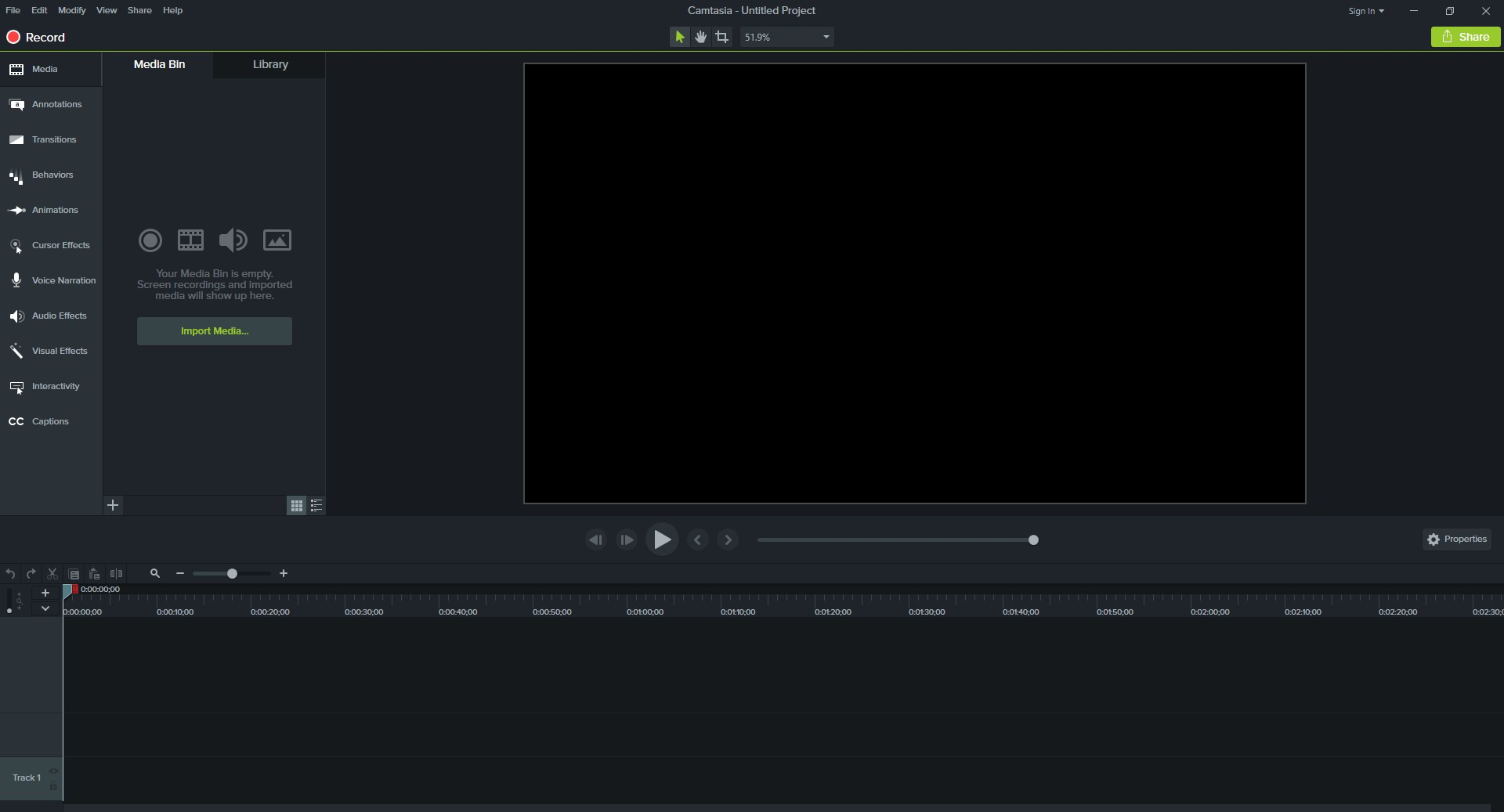 Camtasia Studio screenshot 0