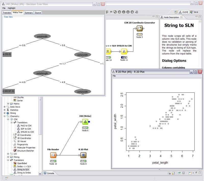 KNIME screenshot 2