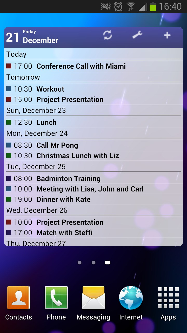 Business Calendar screenshot 0