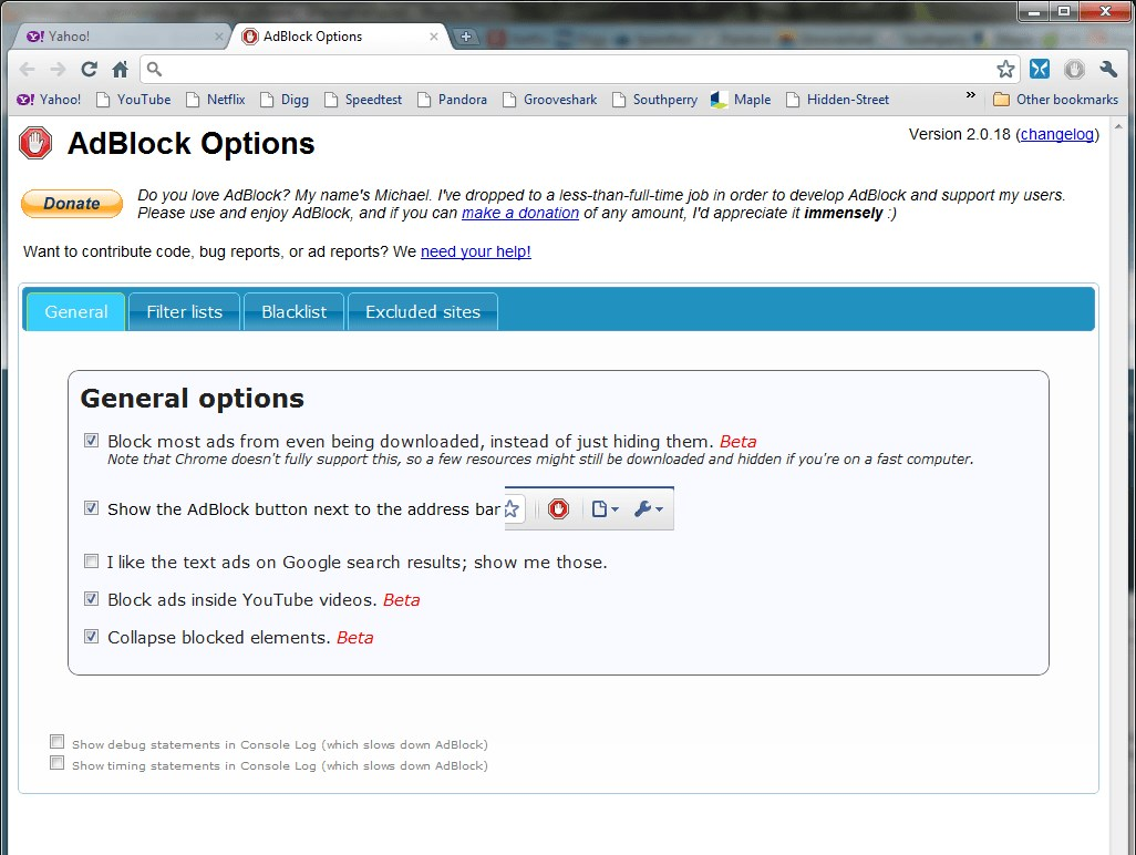 AdBlock screenshot 2