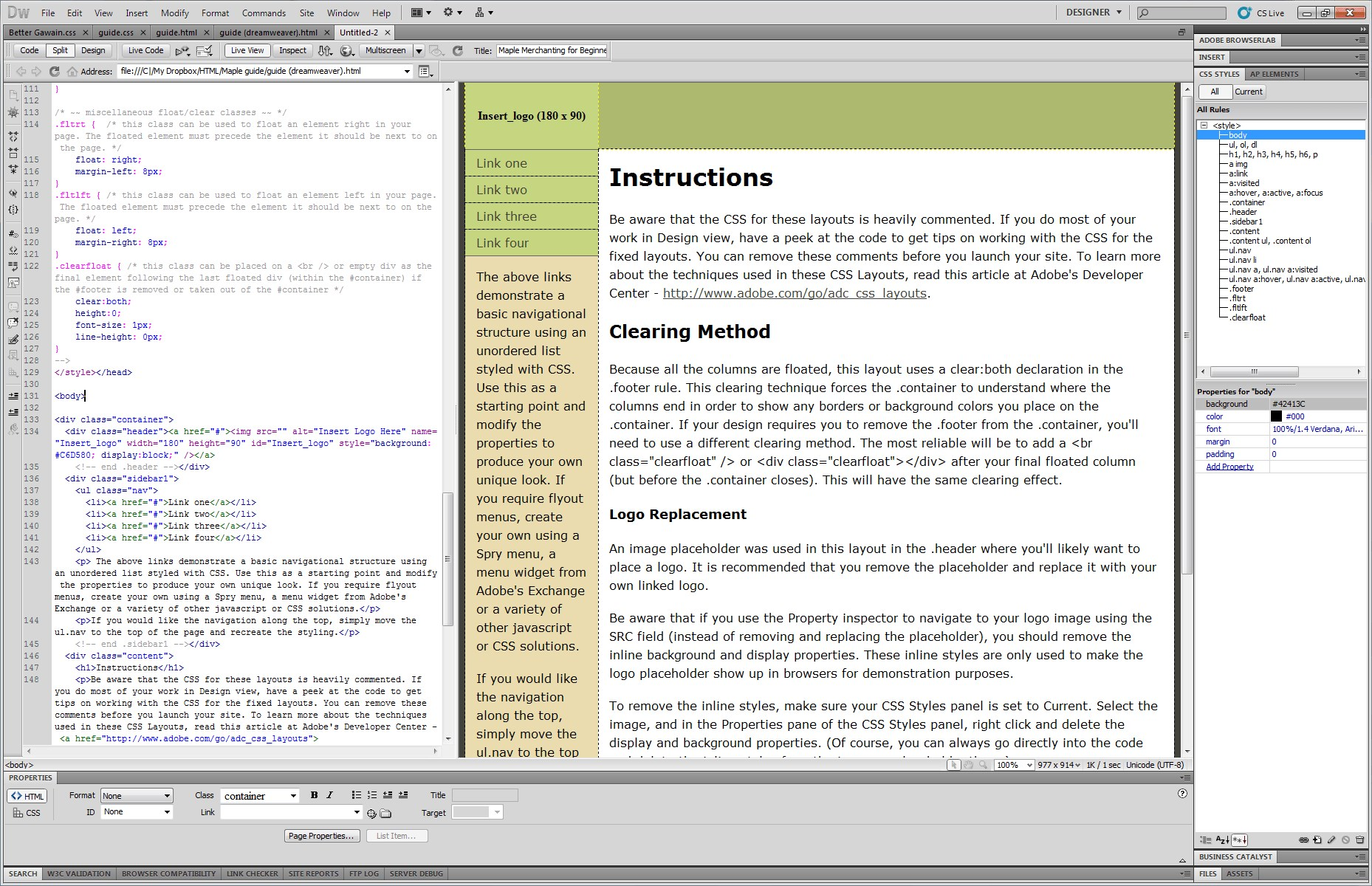 Adobe Dreamweaver screenshot 0