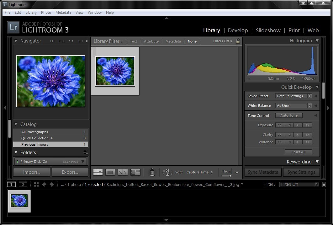Adobe Photoshop Lightroom screenshot 0
