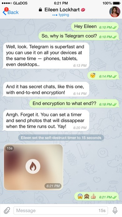 Telegram screenshot 2