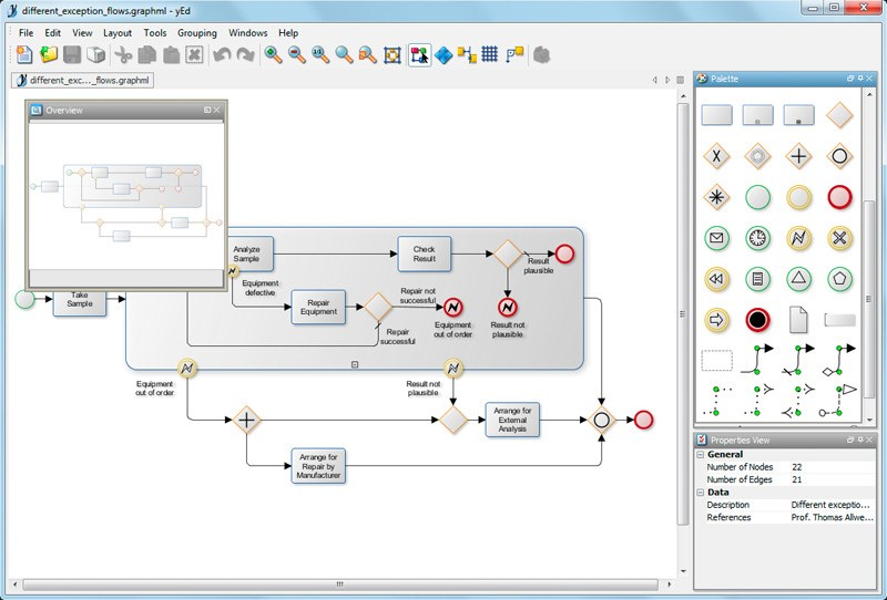 yEd Graph Editor screenshot 1