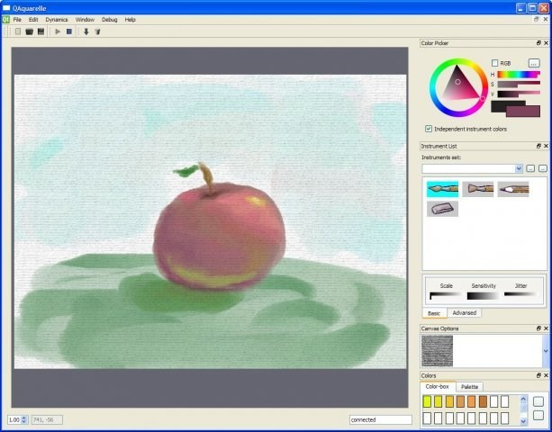 QAquarelle screenshot 0
