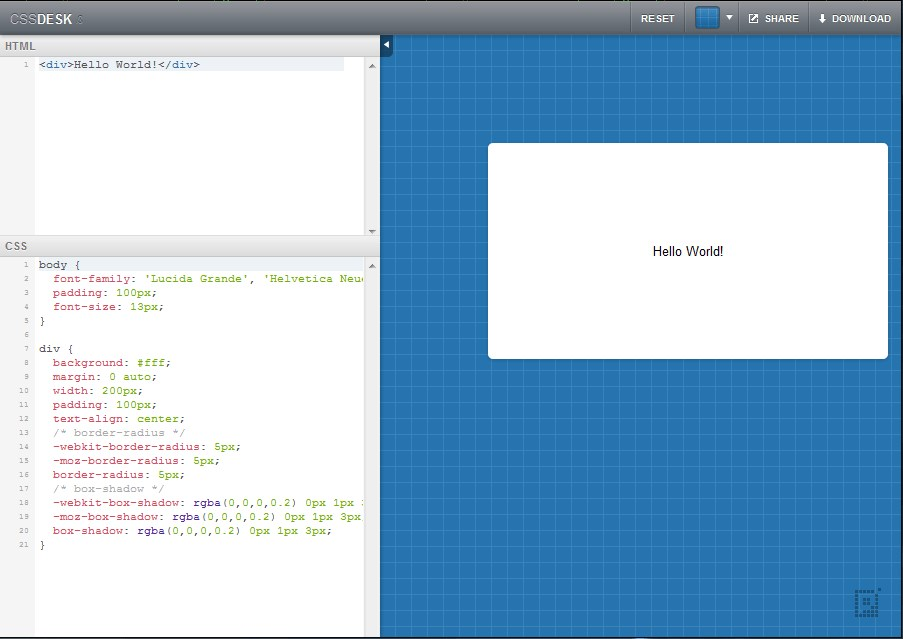 CSSDesk screenshot 0