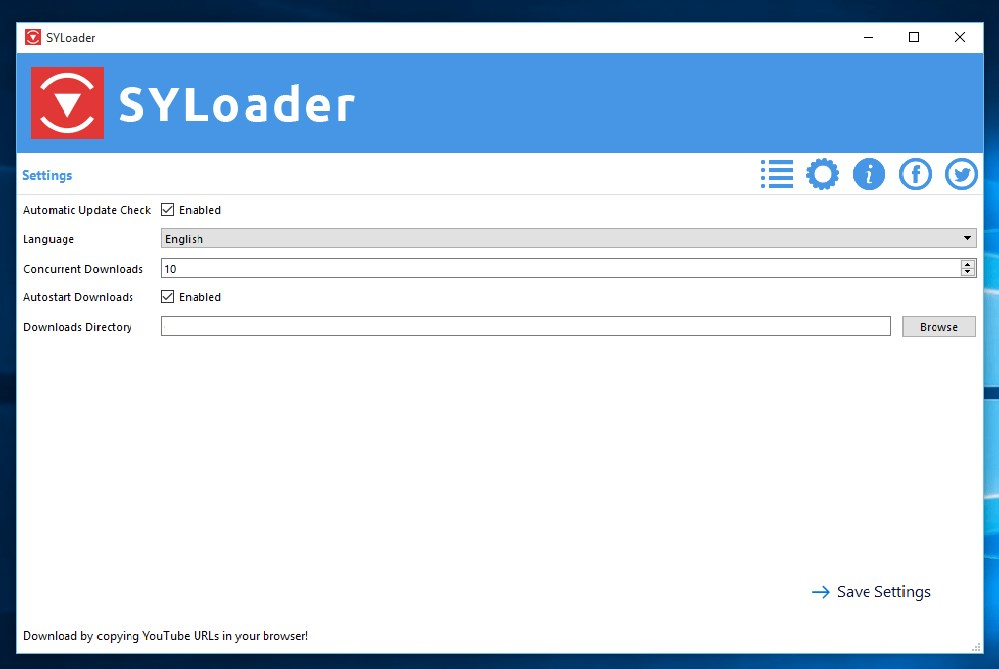 SYLoader screenshot 1