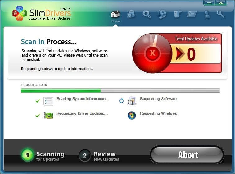 SlimDrivers screenshot 1