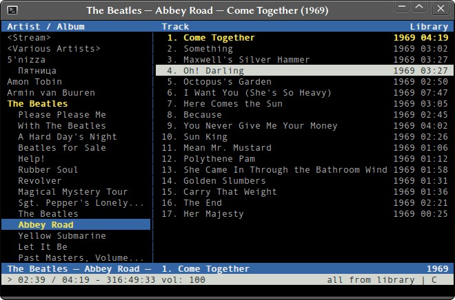 C* Music Player screenshot 0
