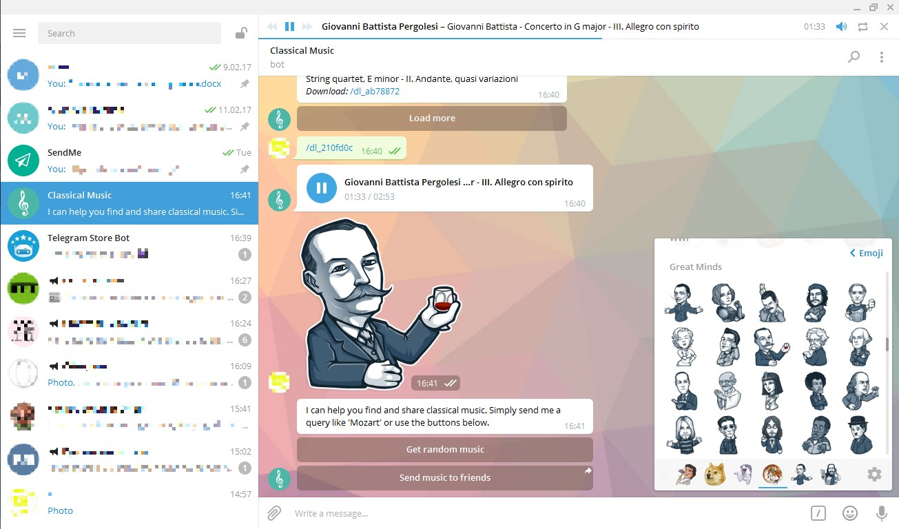 Telegram screenshot 0