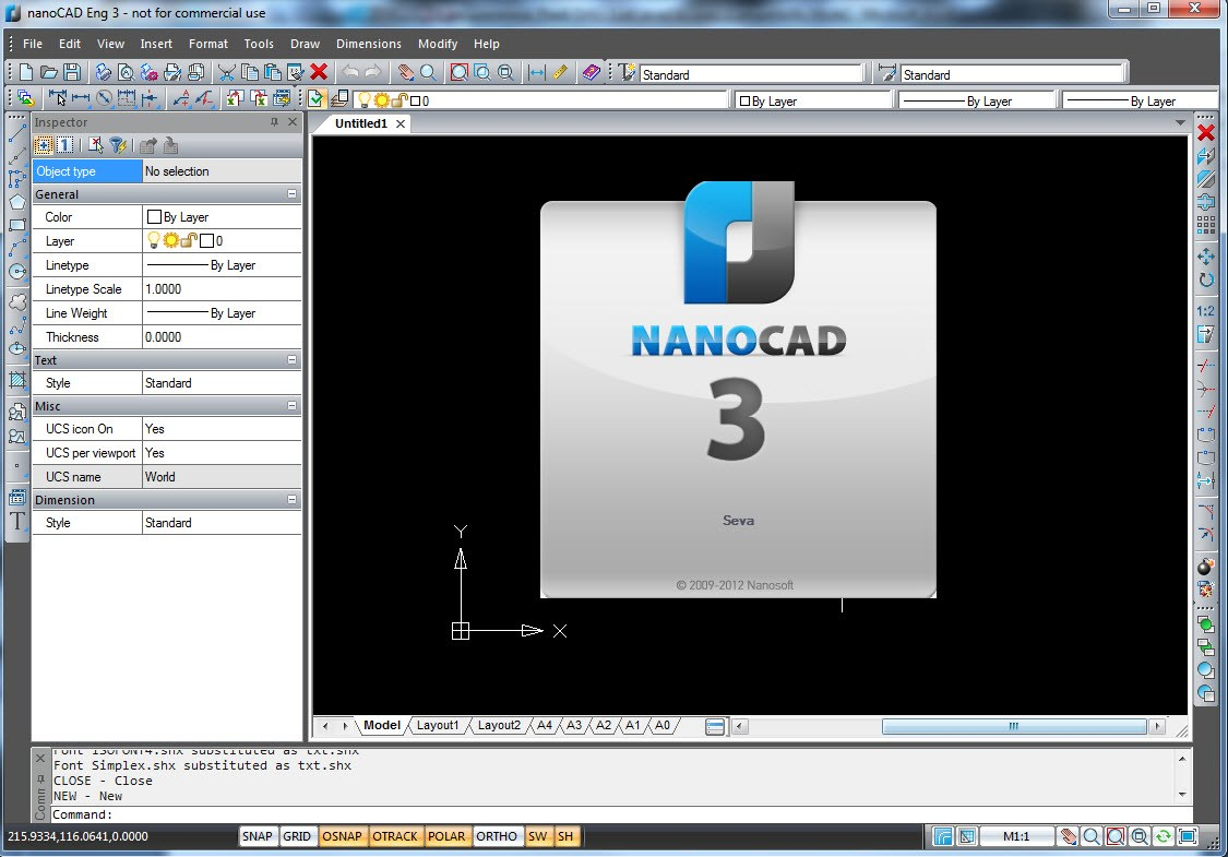 nanoCAD screenshot 0