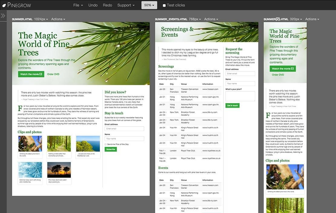 Pinegrow Web Editor screenshot 0