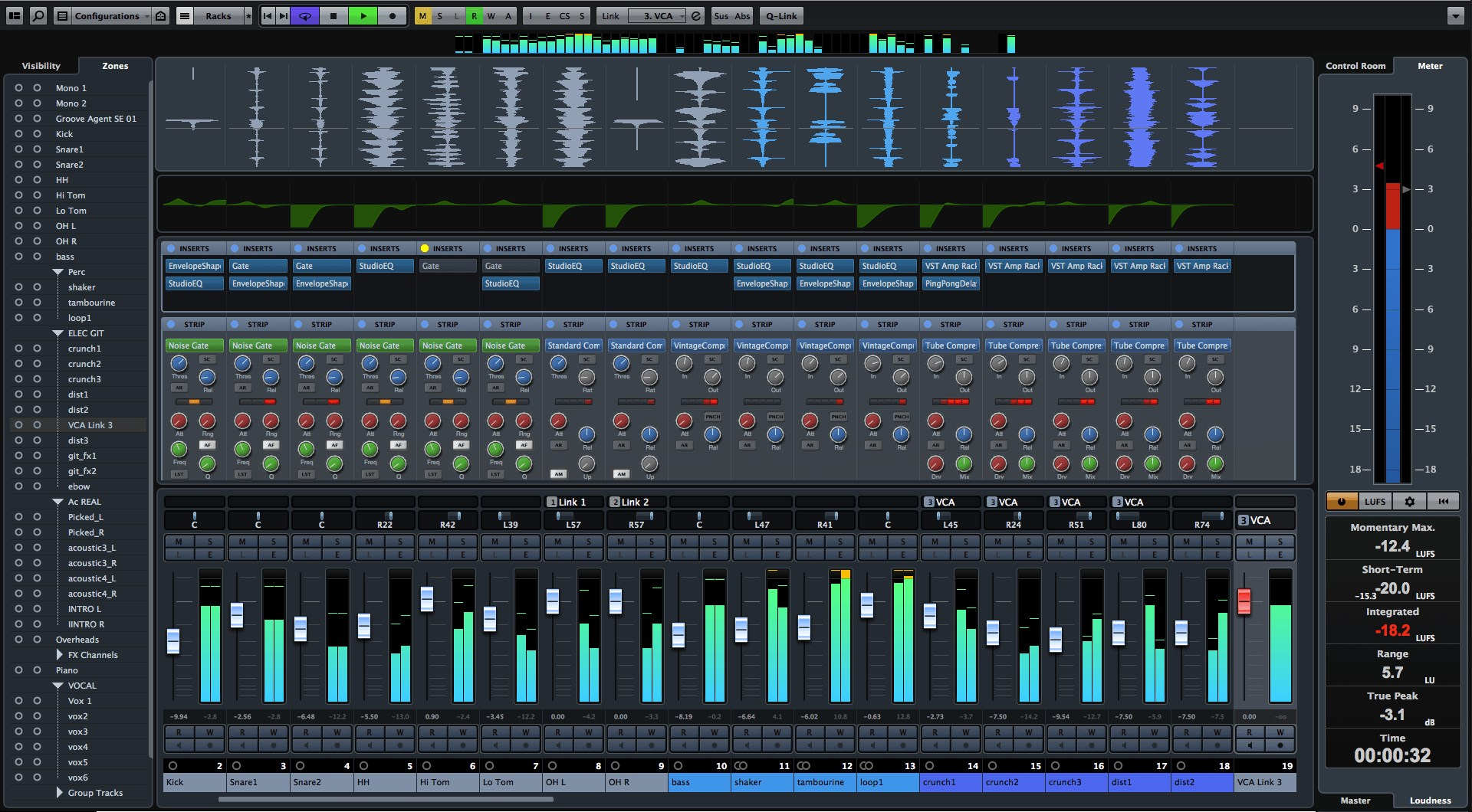 Cubase screenshot 1