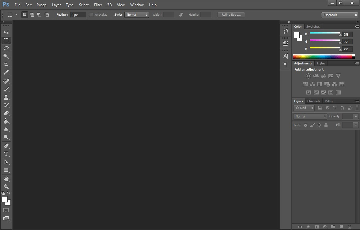 Adobe Photoshop screenshot 0