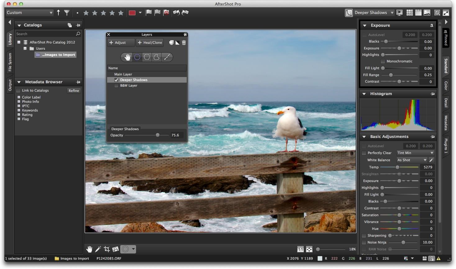 Corel AfterShot Pro screenshot 1