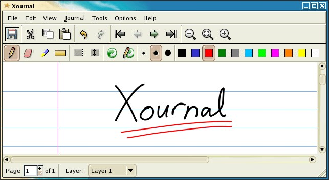 xournal screenshot 0