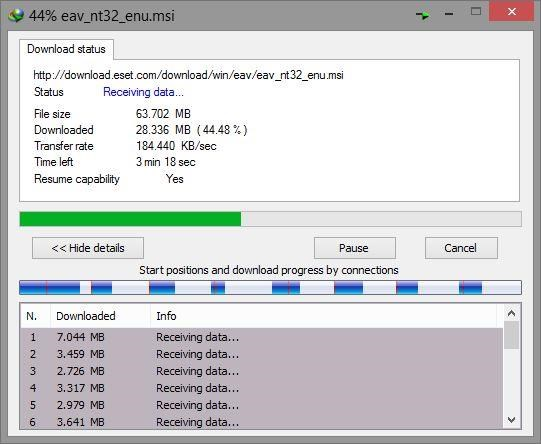 Internet Download Manager screenshot 1