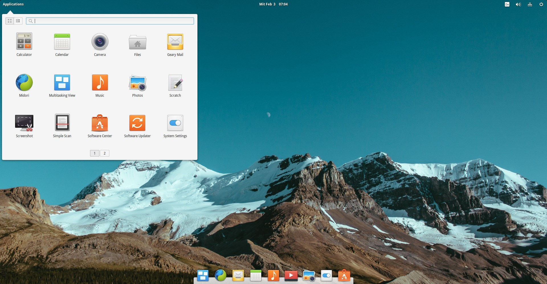 elementary OS screenshot 2