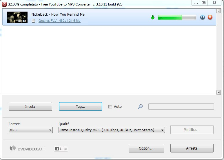 Free YouTube to MP3 Converter screenshot 1