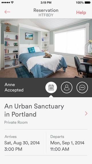 Airbnb screenshot 0