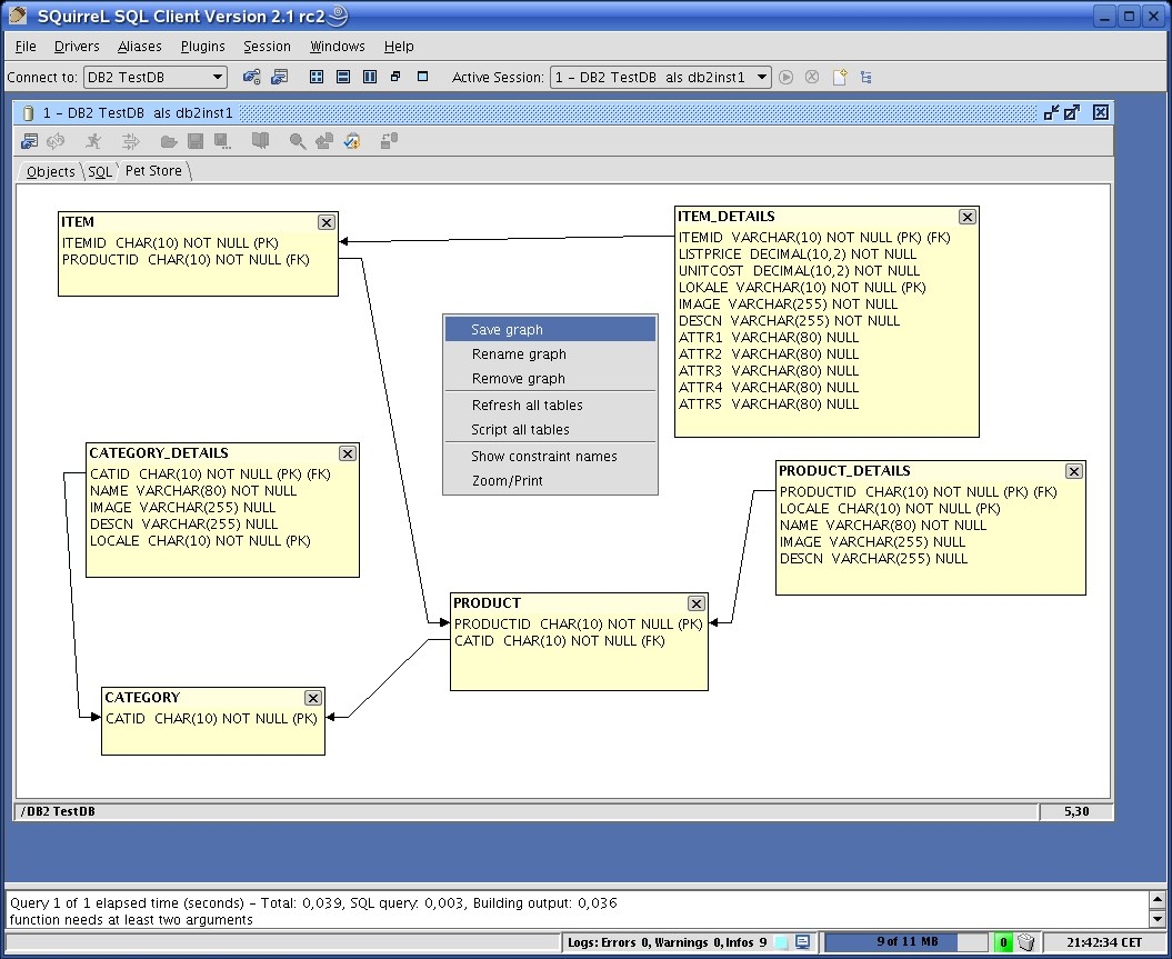 SQuirreL SQL screenshot 1