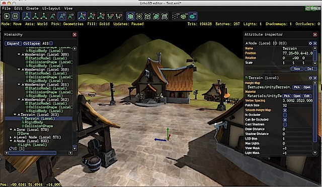 Urho3D screenshot 1