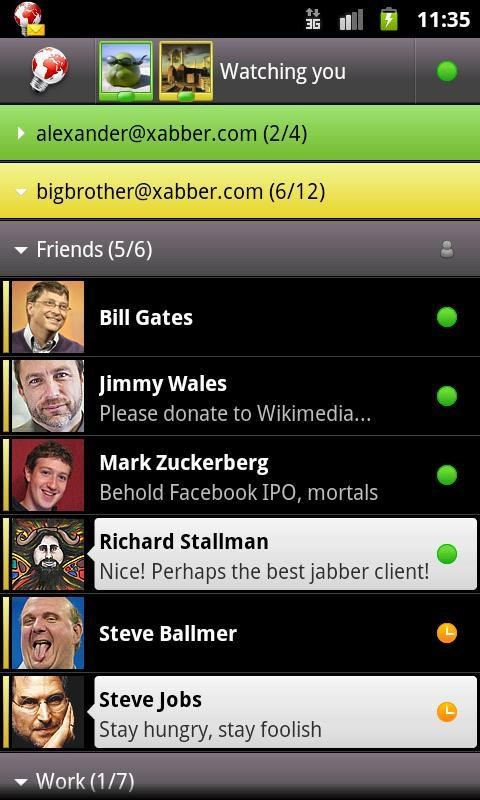 Xabber screenshot 0