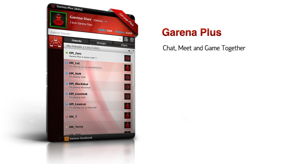Garena Plus screenshot 0