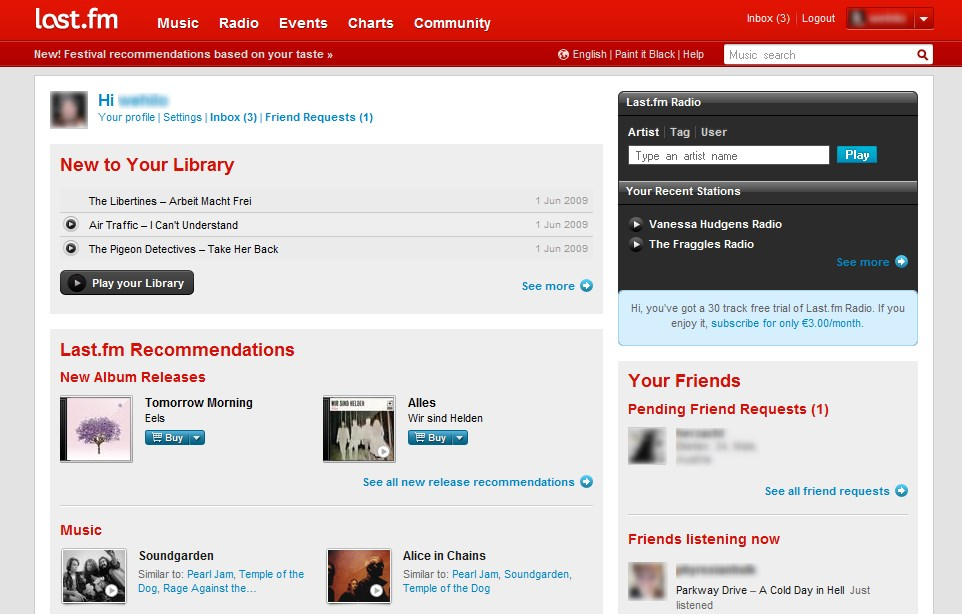 Last.fm screenshot 0