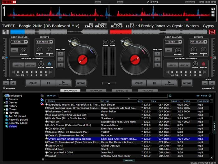 VirtualDJ screenshot 1