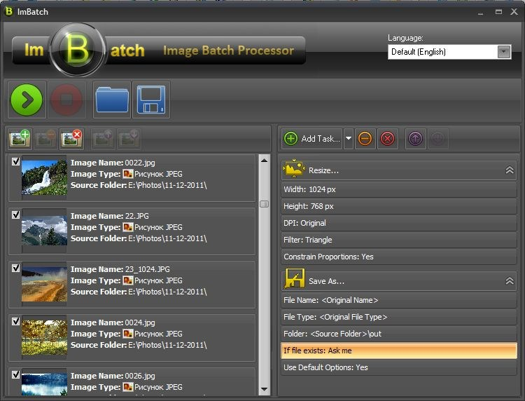 ImBatch screenshot 1