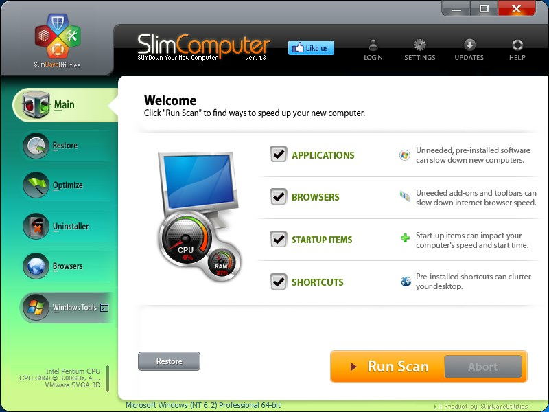 SlimComputer screenshot 0