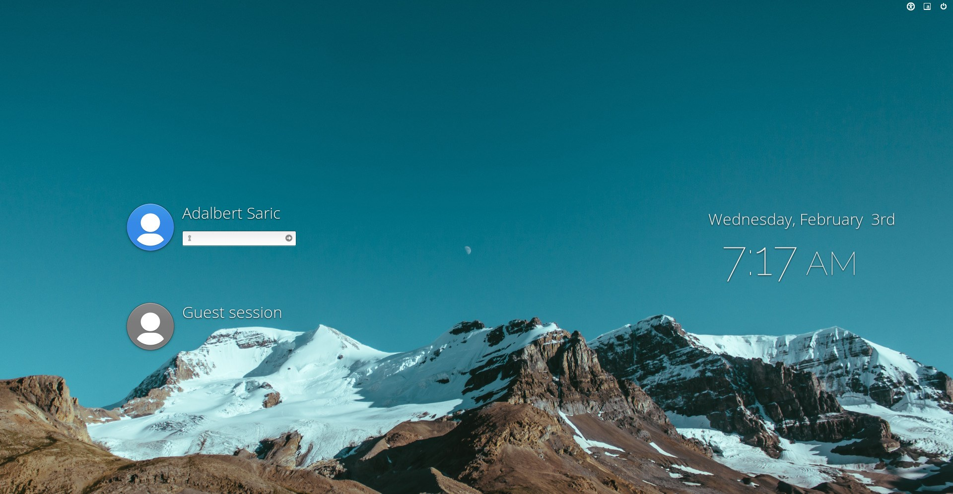 elementary OS screenshot 1