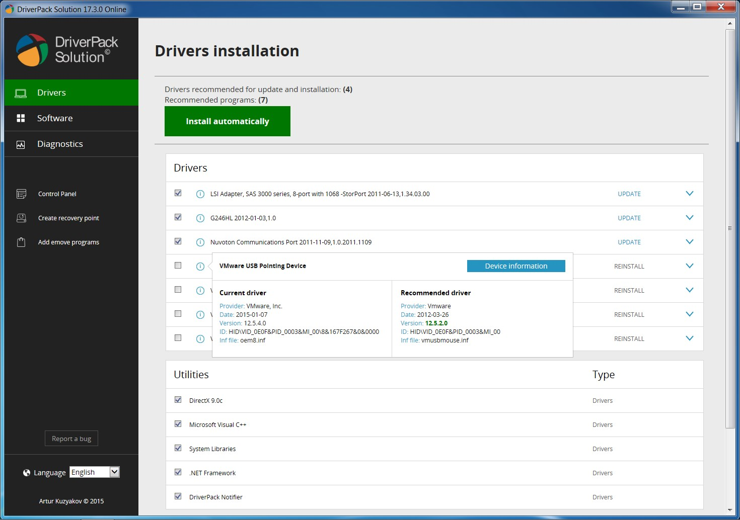 DriverPack Solution screenshot 2