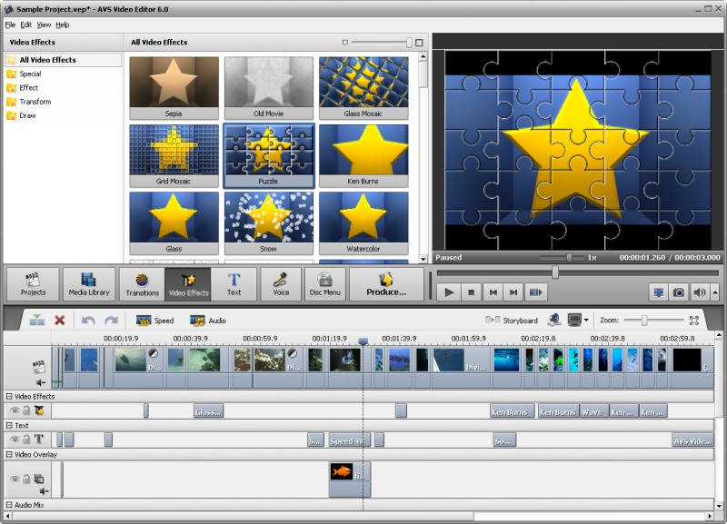 AVS Video Editor screenshot 2
