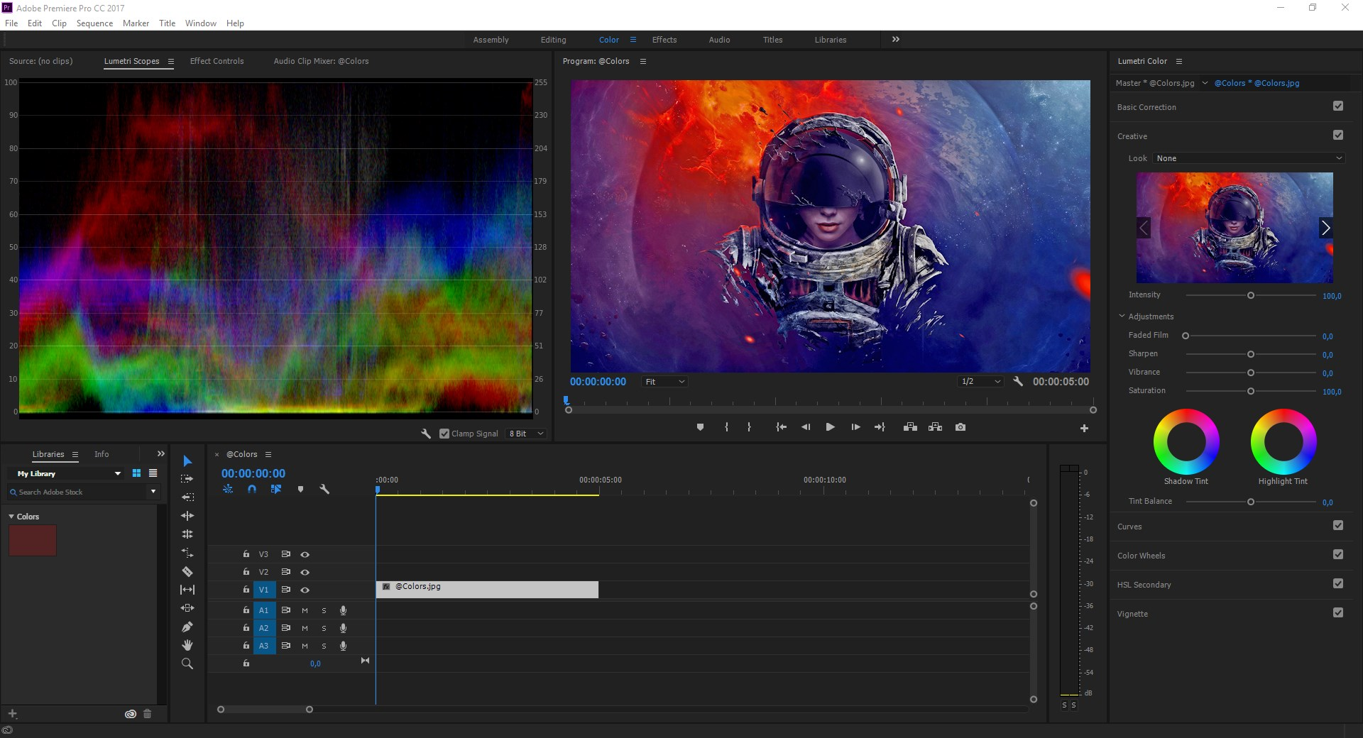 Adobe Premiere Pro screenshot 2