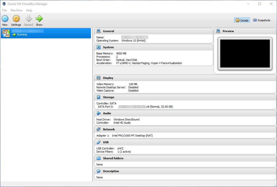 VirtualBox screenshot 0