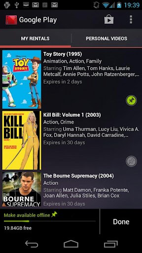 Google Play Movies & TV screenshot 0