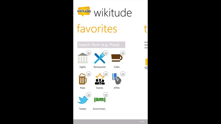 Wikitude screenshot 2
