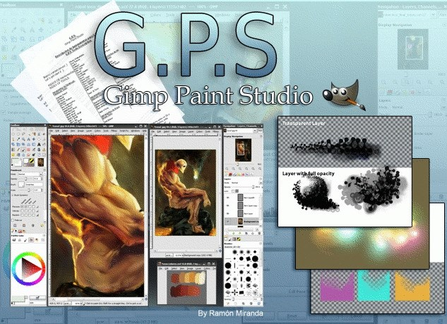 Gimp Paint Studio screenshot 0