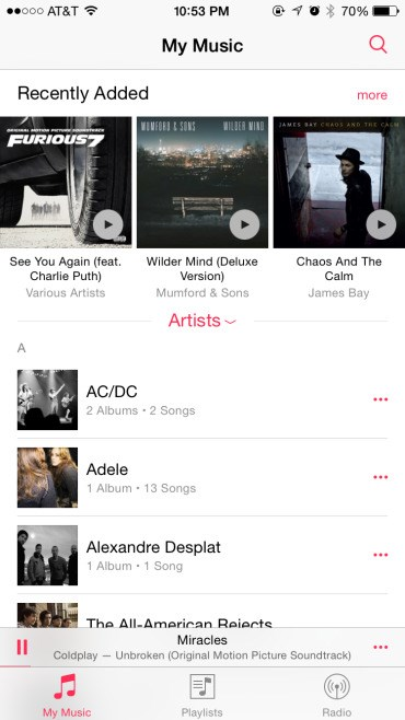 Apple Music screenshot 2