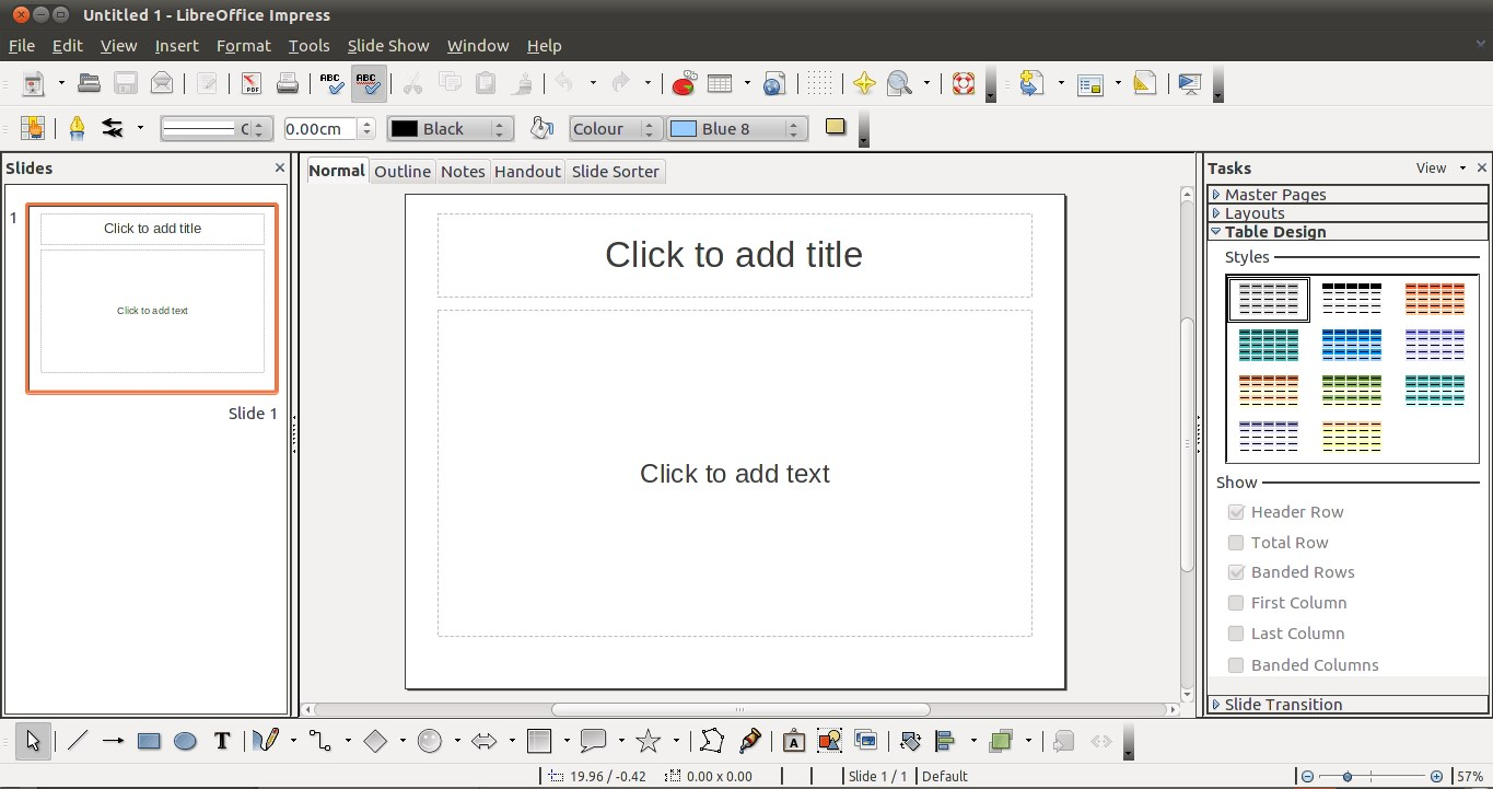 LibreOffice screenshot 2