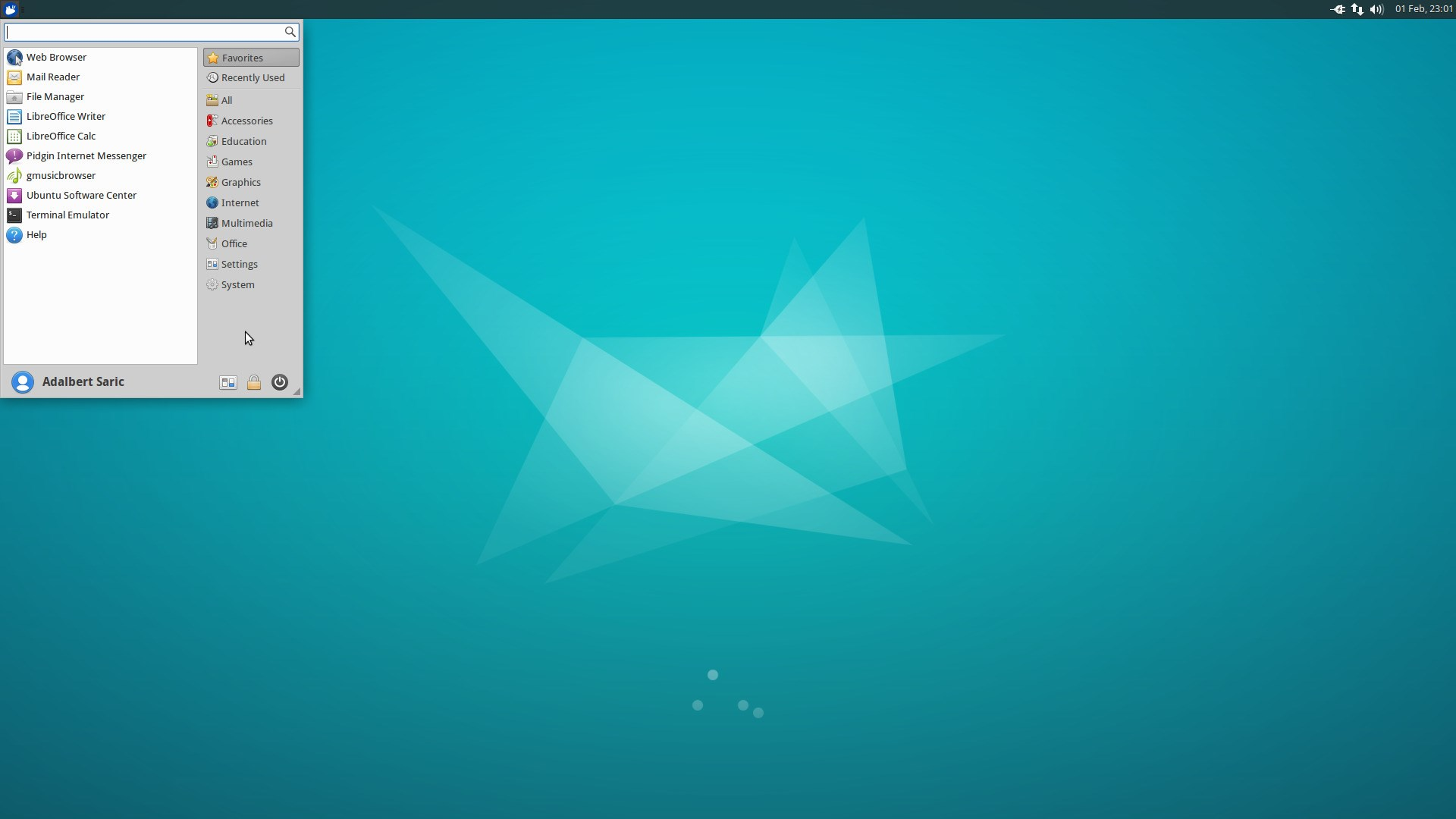 Xubuntu screenshot 1