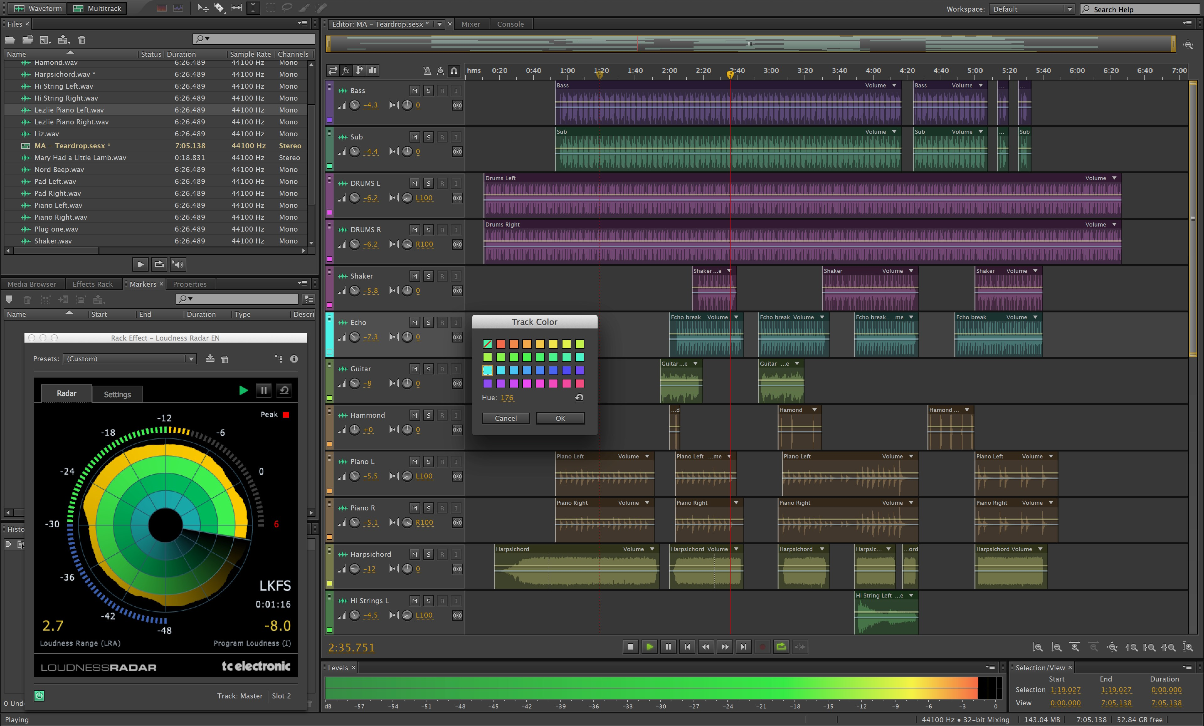 Adobe Audition screenshot 0