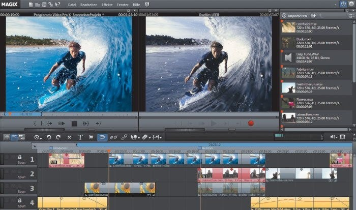 MAGIX Video Pro X screenshot 0