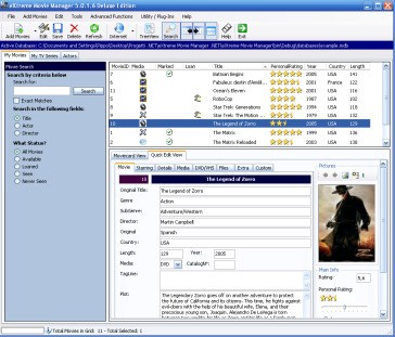 Extreme Movie Manager screenshot 2