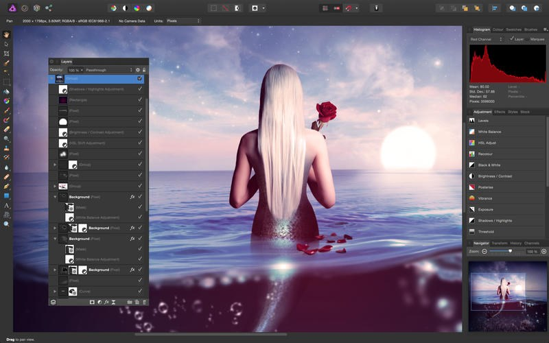 Affinity Photo screenshot 2
