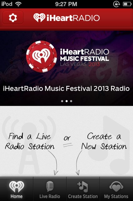 iHeartRadio screenshot 1